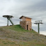 Mt Hotham Summit chair lift - top